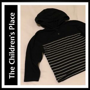 The Children's Place Long Sleeve Hooded Shirt